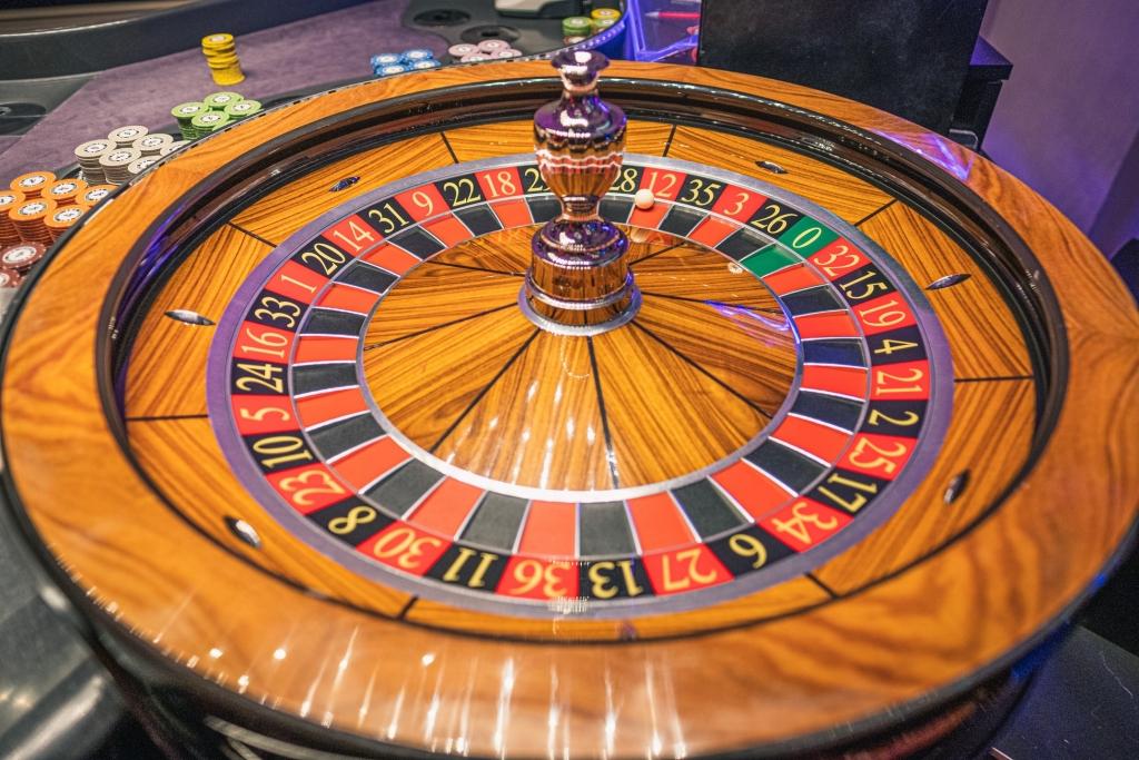Imagen de una ruleta de casino.